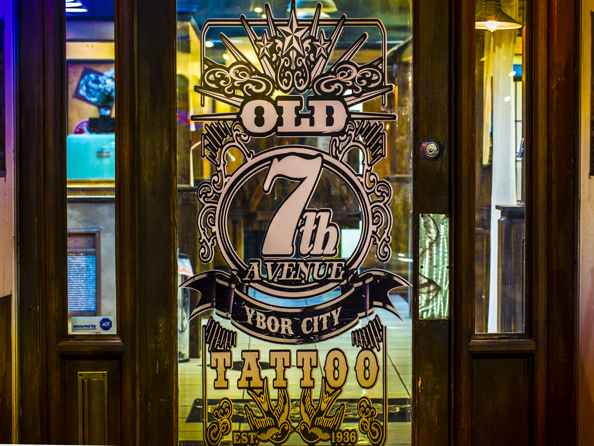 Old 7th Avenue Tattoo   Historic Ybor City Tampa Florida