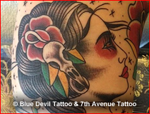 Old School Tattoo Gallery Blue Devil
