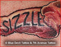 Realism Tattoo Gallery Blue Devil
